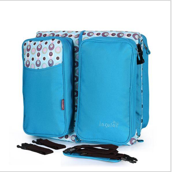 新款多功能折叠婴儿床带蚊帐