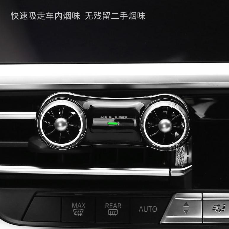 新品车载空气净化器 负离子即插即用小型车空气净化器