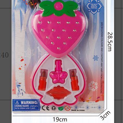 801-13彩盒装少女心冰雪公主化妆品套装