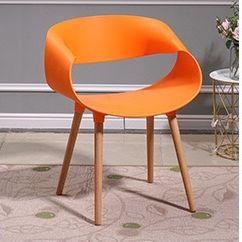 吕字家具-伊姆斯椅子洽谈椅子现代简约靠背椅子塑料椅子休闲椅子