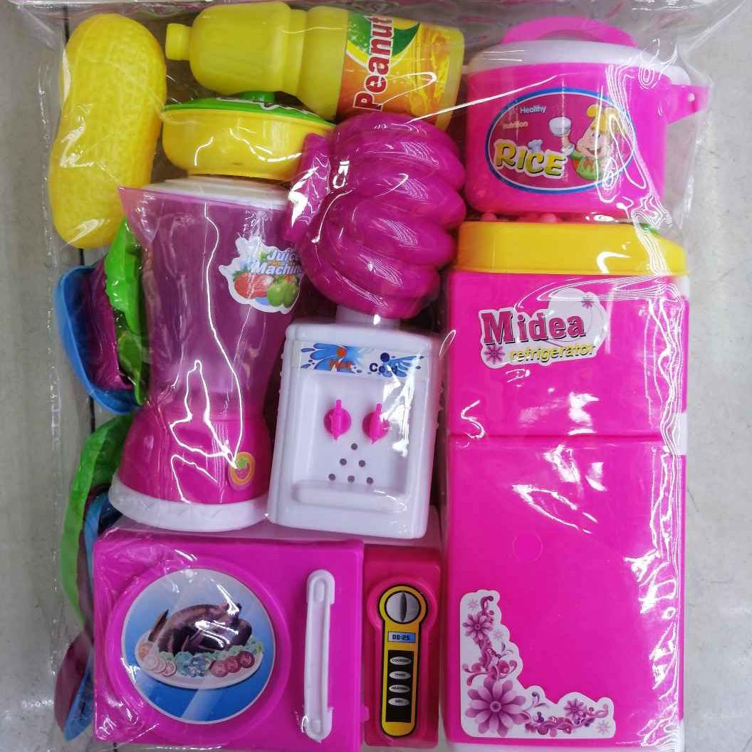 5881-2女孩子过家家可爱仿真玩具套装