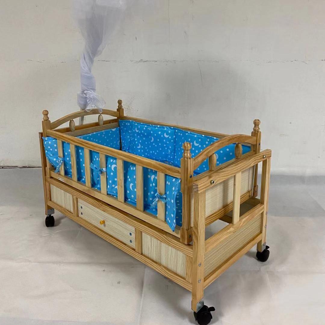 5611木床婴儿床