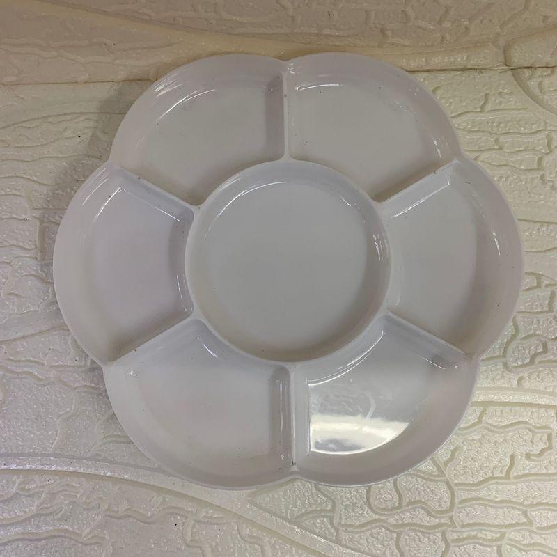 梅花调色盘 绘画调色 装颜料盘 水彩调色盘  颜料调色盘