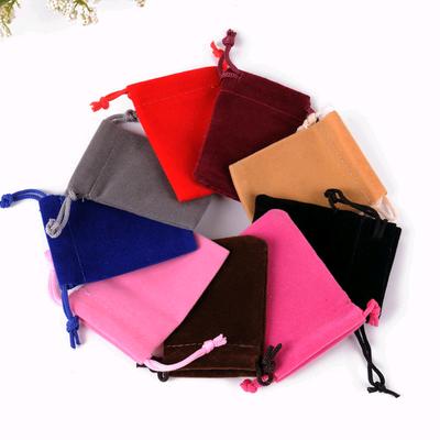 1血雅绒布袋印刷袋礼品袋束口袋包装袋首饰袋收纳袋礼品食品饰品包装帆布袋