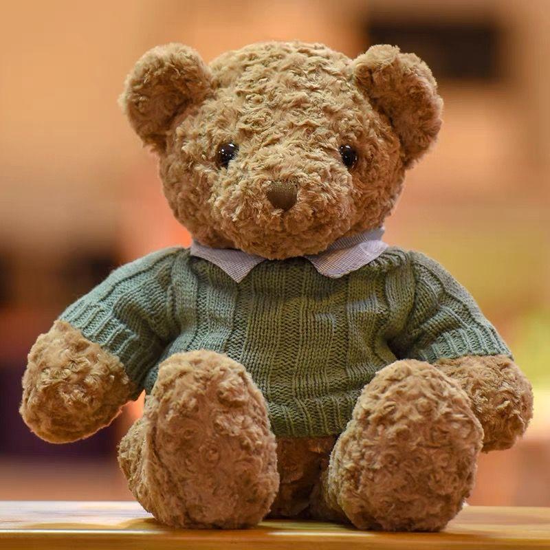 布娃娃毛绒玩具娃娃熊熊公仔大号抱抱熊女生玩偶生日礼物毛衣泰迪宝华玩具商行