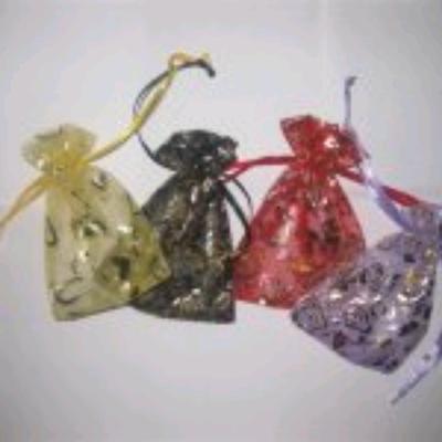 1大红玫瑰袋抽绳袋食品袋束口袋礼品袋纱布袋包装袋首饰袋收纳袋礼品饰品包装